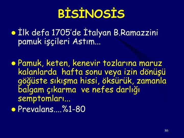 BİSİNOSİS