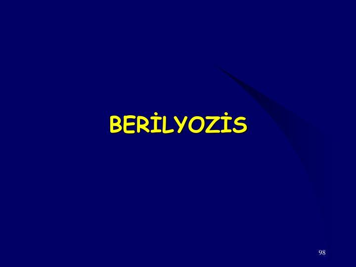 BERİLYOZİS