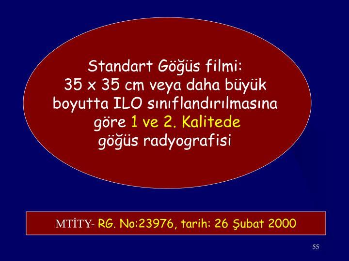 Standart Göğüs filmi: