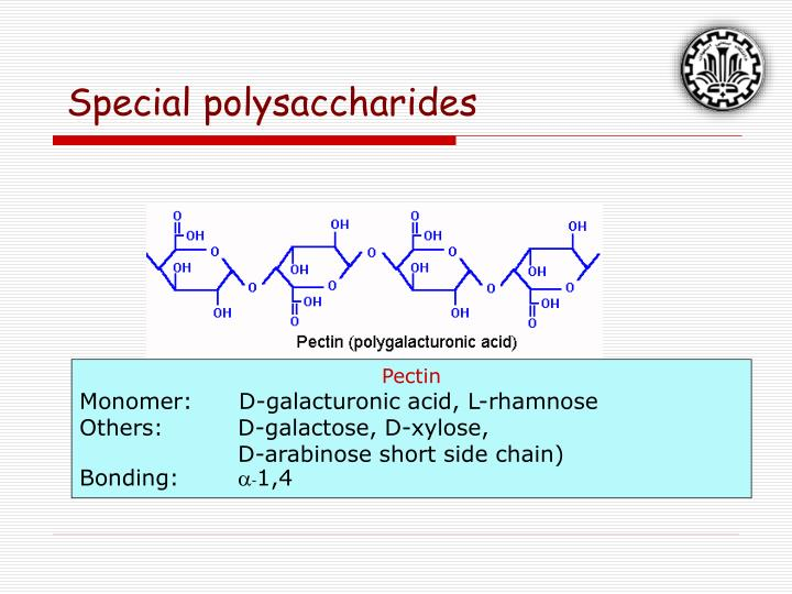 Special polysaccharides