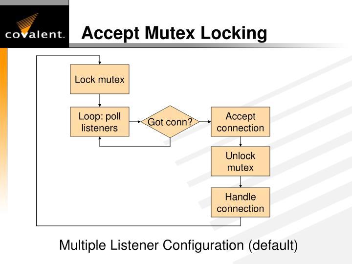 Accept Mutex Locking