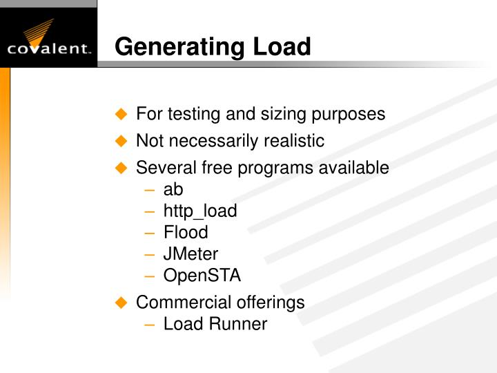 Generating Load