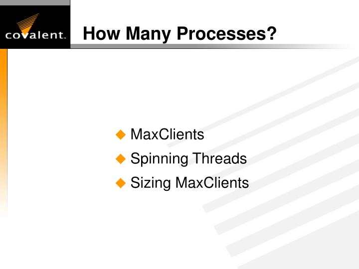 How Many Processes?