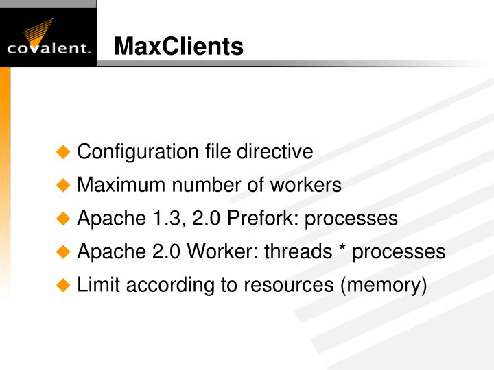 MaxClients