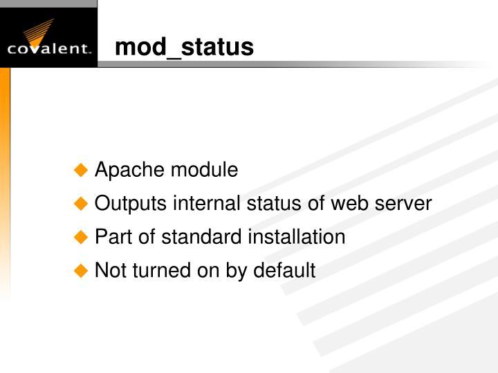 mod_status
