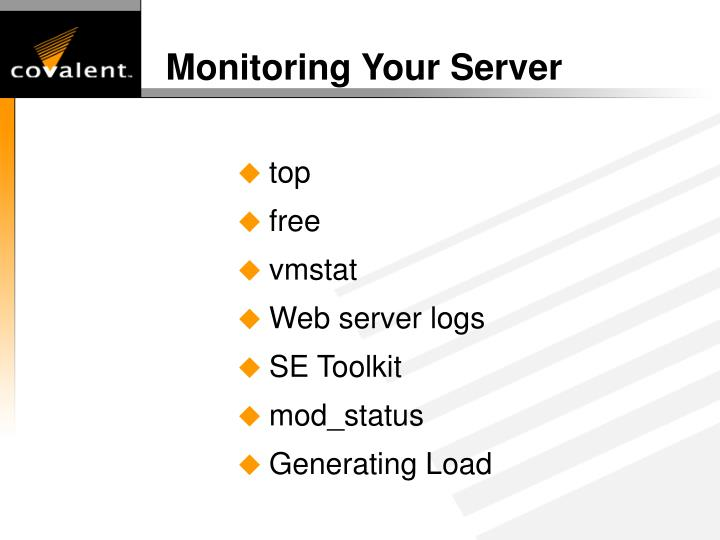 Monitoring Your Server