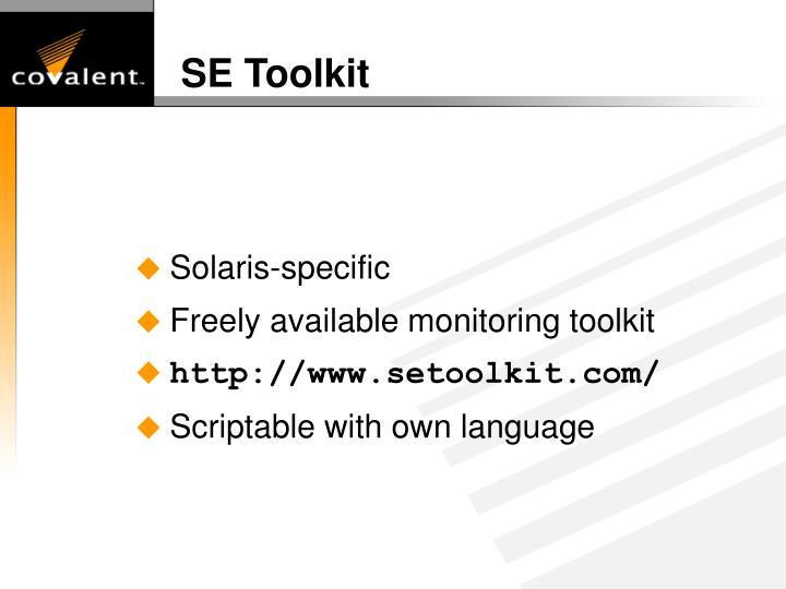 SE Toolkit