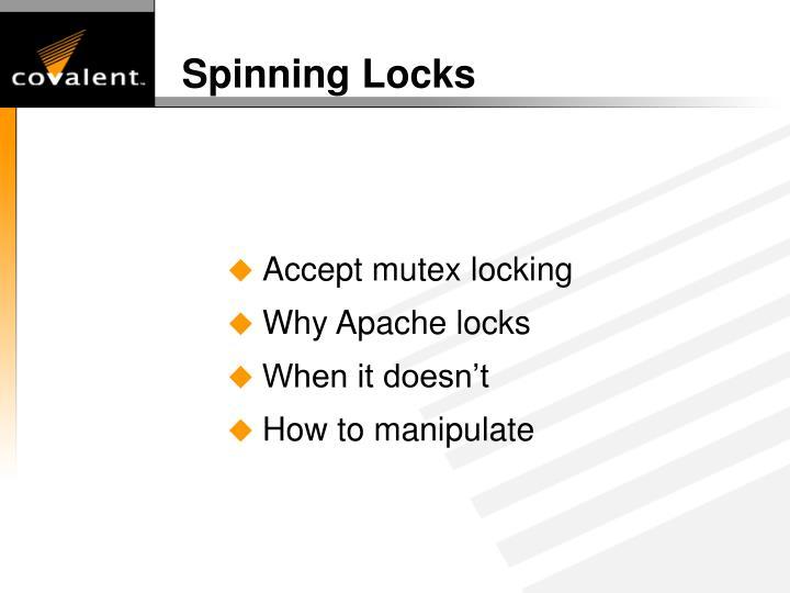 Spinning Locks