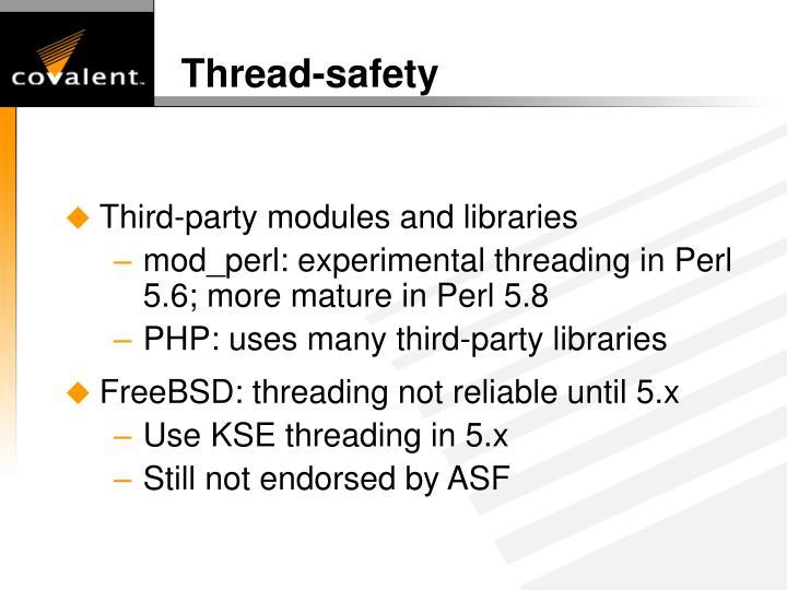 Thread-safety