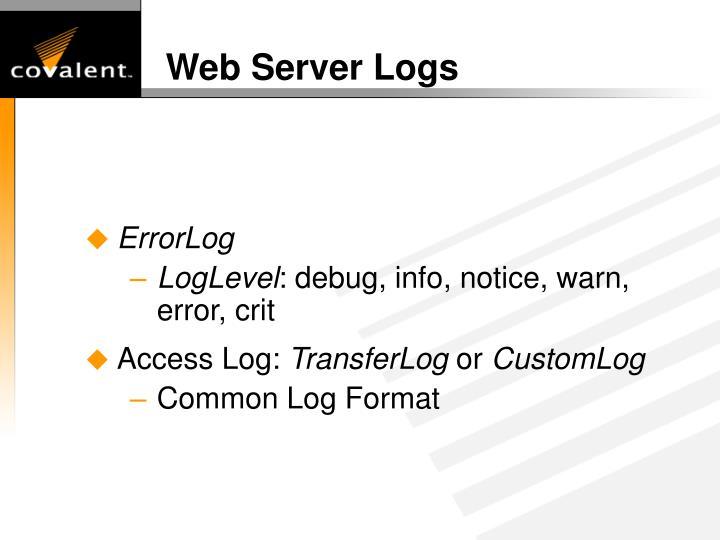 Web Server Logs