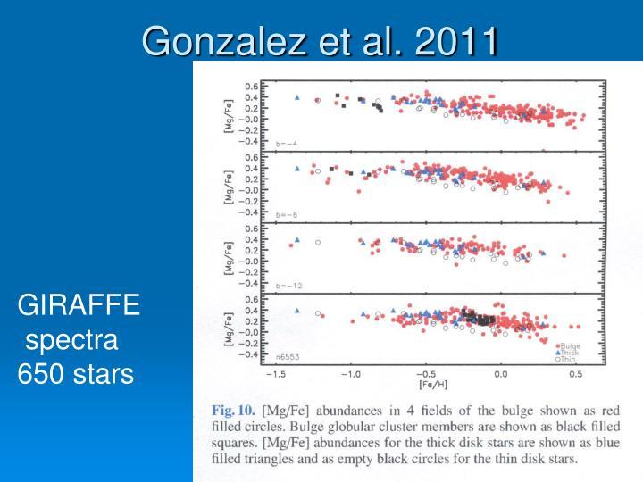 Gonzalez et al. 2011