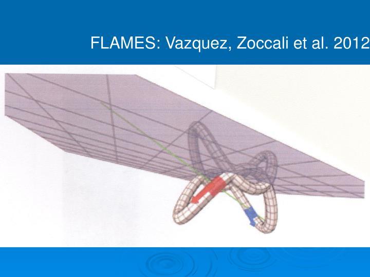 FLAMES: Vazquez, Zoccali et al. 2012