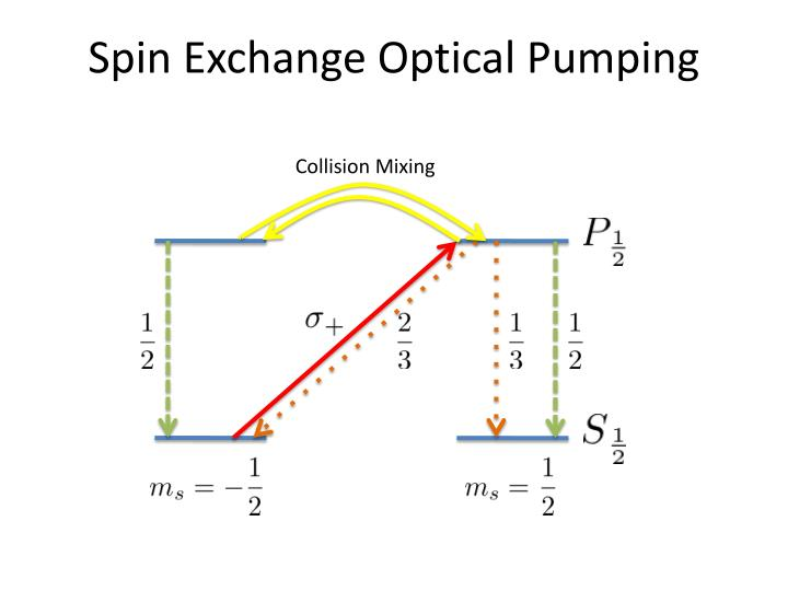 Spin Exchange Optical Pumping