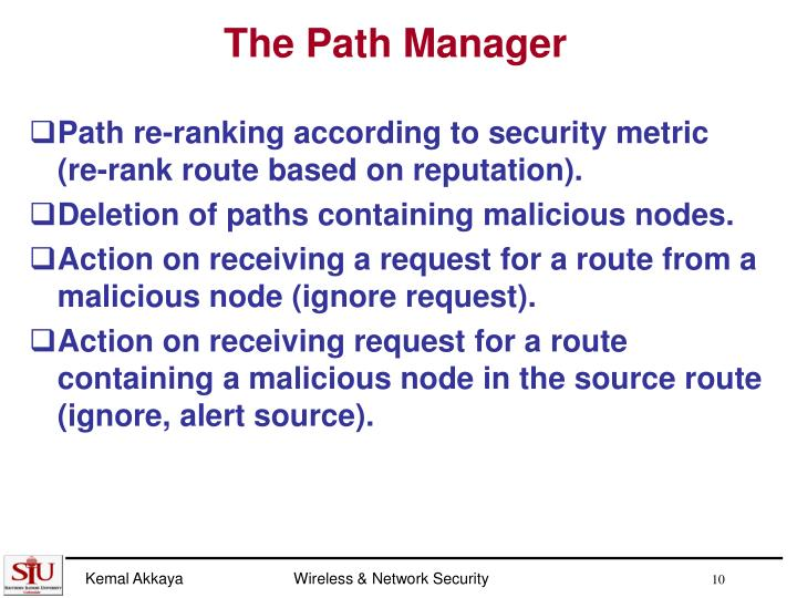 The Path Manager