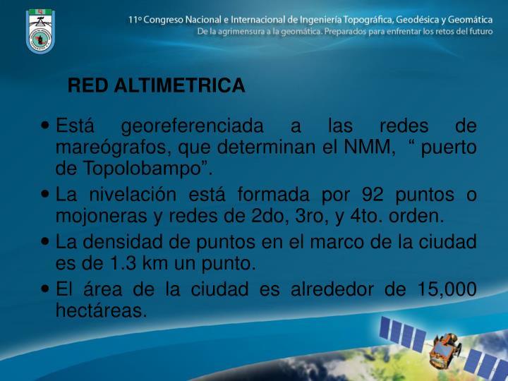 RED ALTIMETRICA