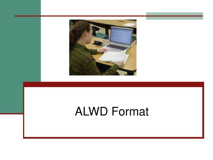 ALWD Format