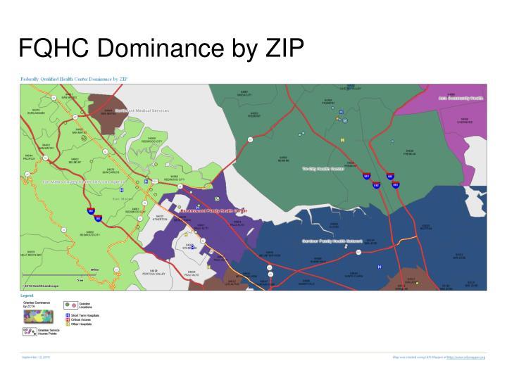FQHC Dominance by ZIP