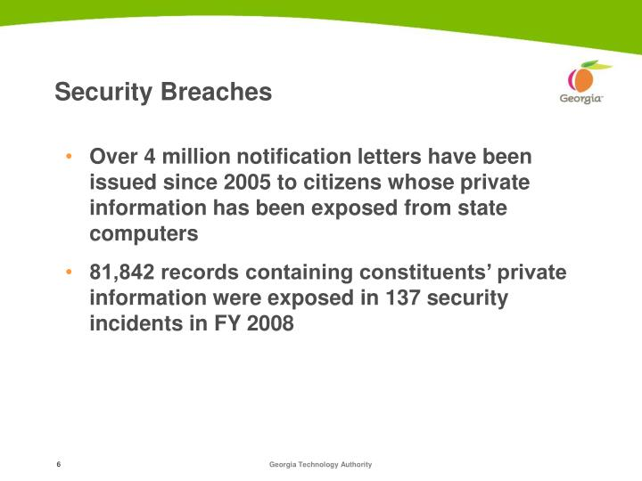 Security Breaches