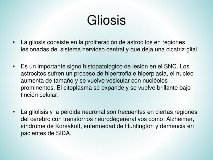 Gliosis