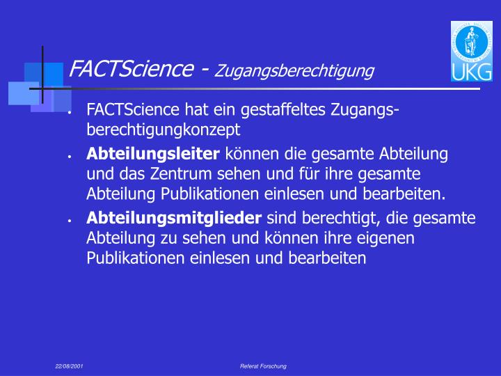 FACTScience -