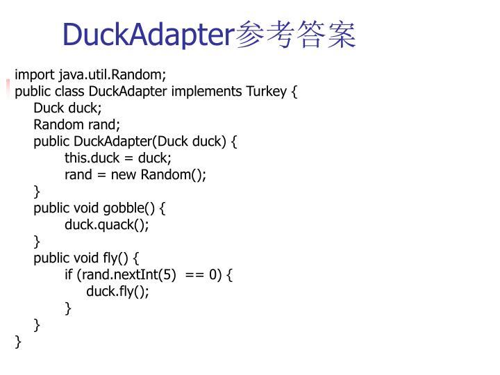 DuckAdapter