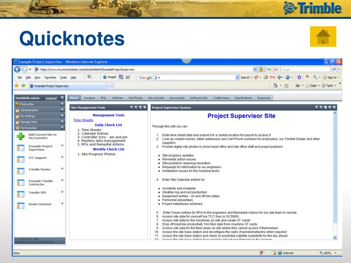 Quicknotes