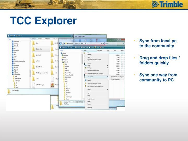 TCC Explorer