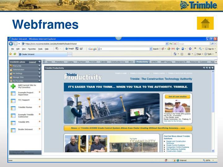 Webframes