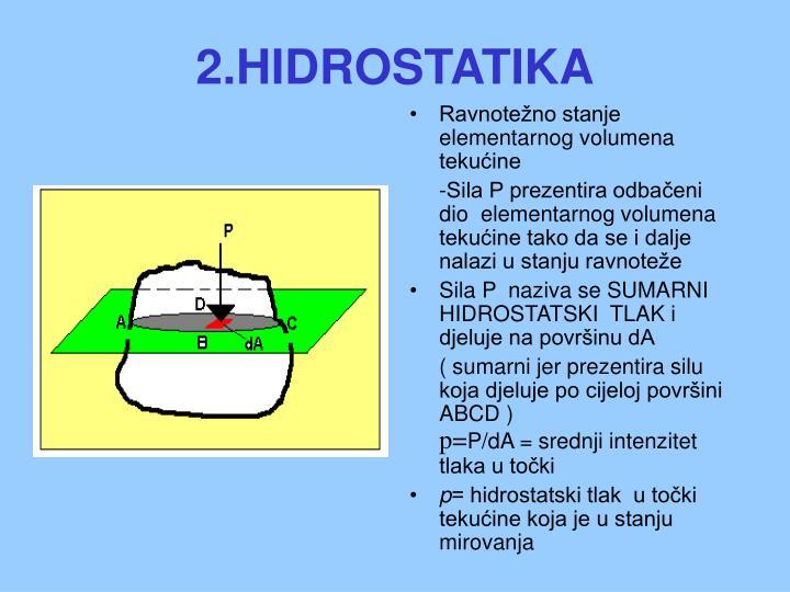 2.HIDROSTATIKA