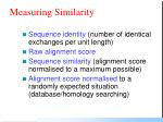 measuring similarity