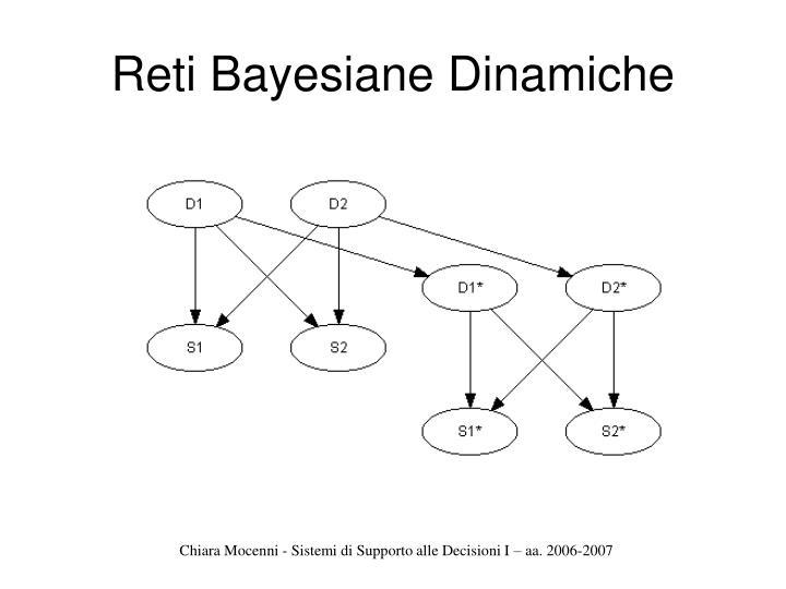 Reti Bayesiane Dinamiche