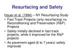 resurfacing and safety4