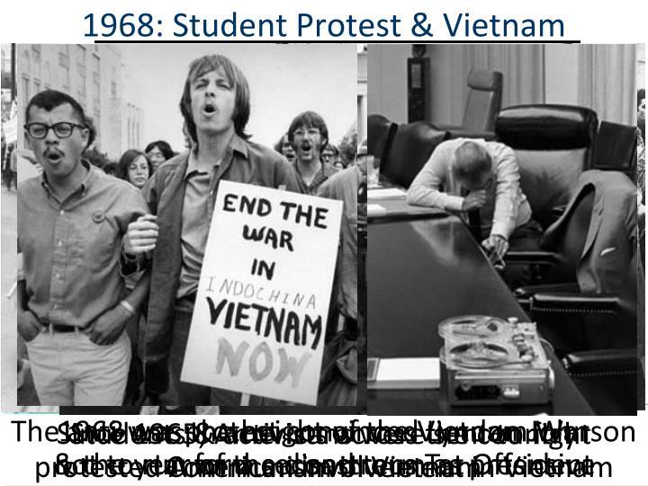 1968: Student Protest & Vietnam