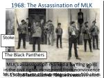 1968 the assassination of mlk