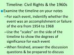 timeline civil rights the 1960s