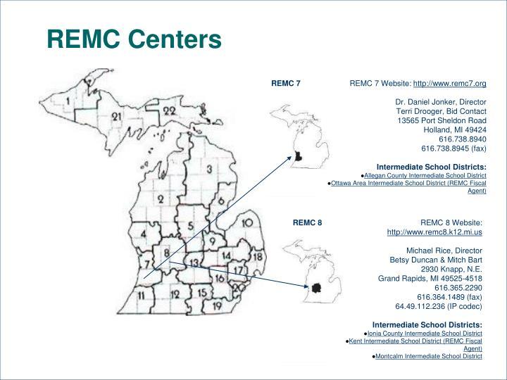 REMC Centers