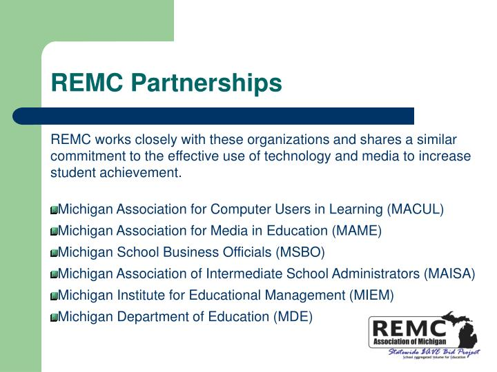 REMC Partnerships