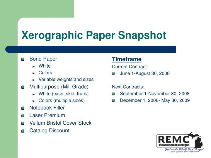 Bond Paper