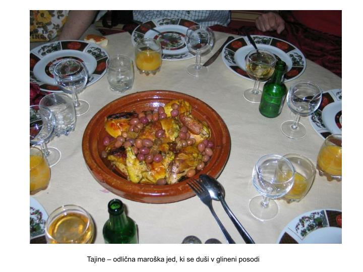 Tajine – odlična maroška jed, ki se duši v glineni posodi