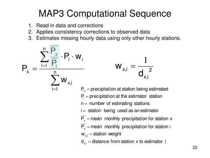 MAP3 Computational Sequence