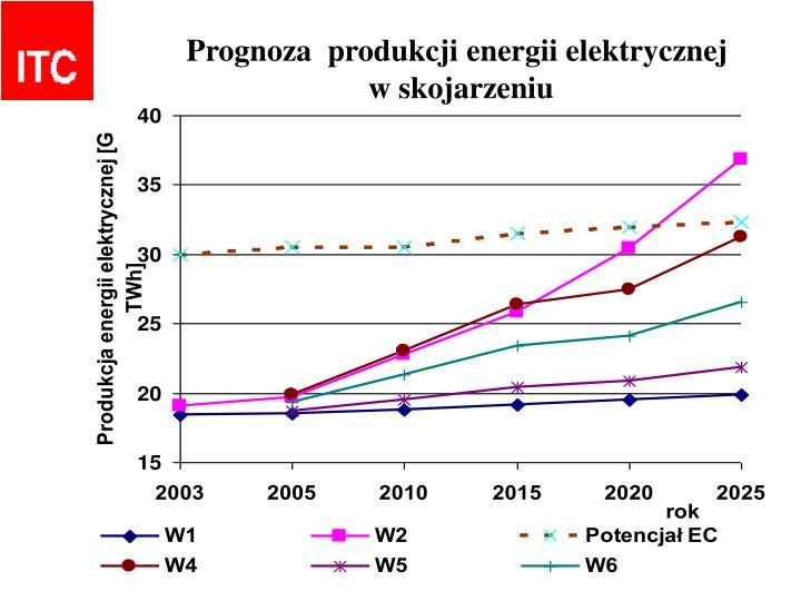 Prognoza  produkcji energii elektrycznej