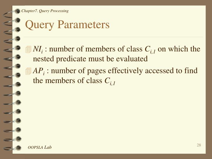 Query Parameters