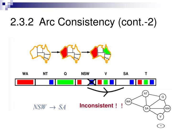 2.3.2  Arc Consistency (cont.-2)