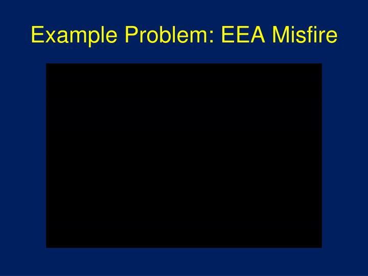 Example Problem: EEA Misfire