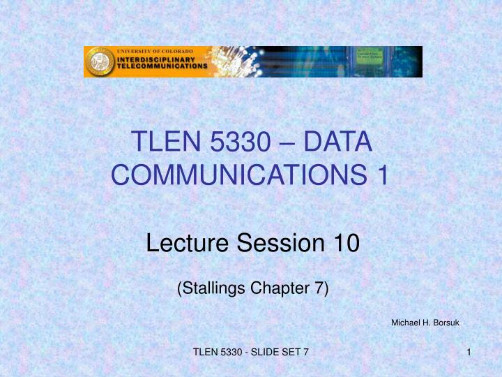 Tlen 5330 data communications 1