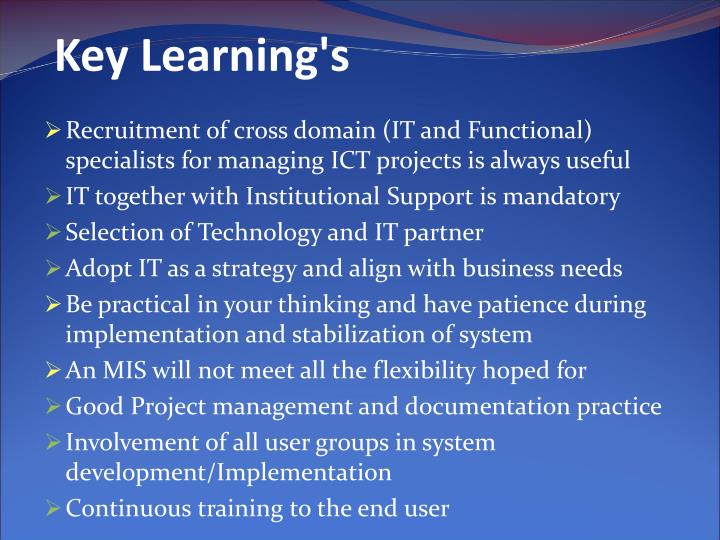 Key Learning's