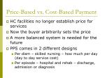 price based vs cost based payment