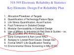 key elements design for reliability plan2