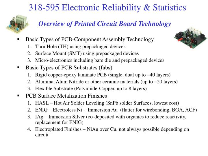 Overview of Printed Circuit Board Technology