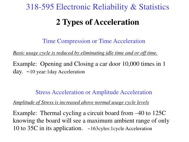 2 Types of Acceleration
